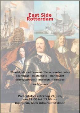 East Side Rotterdam, maritieme wandelroute