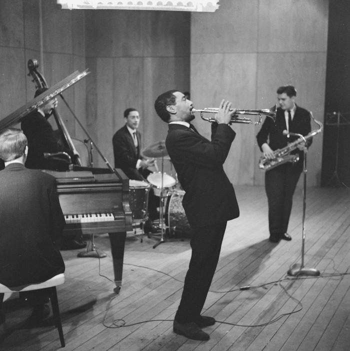 Herbert Behrens, Jazz concert in Rotterdam, collectie Nationaal Archief #CC0