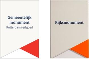 Gemeentelijk Monument Rotterdams Erfgoed / Rijksmonument