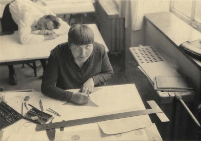 Lotte Beese en Hartmut Schulze rond 1928 via Wikimedia / MoM