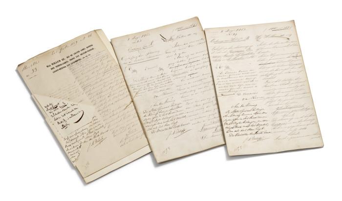 Afschaffing slavernij, 1 juli 1863 Kabinet des Konings (Nationaal Archief)