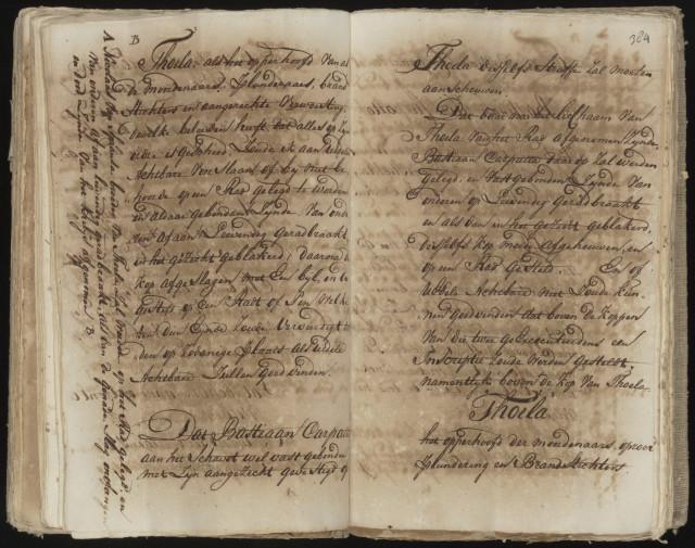 Beschrijving uit het Nationaal Archief over de berechting en executie van Tula. Archiefinventaris 1.05.12.01 inventarisnummer 121