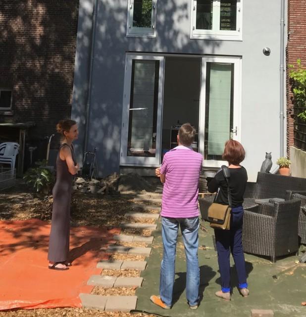 Achtergevel Oranjeboomstraat 111 Rotterdam
