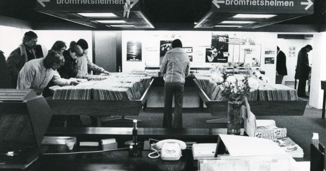 Centrale discotheek in de Doelen 1966 (foto: doelengeheugen.nl)